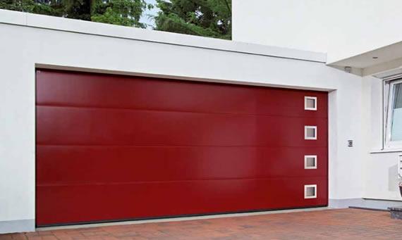 Seccionales de acero chipdigital puertas automaticas for Puertas automaticas garaje