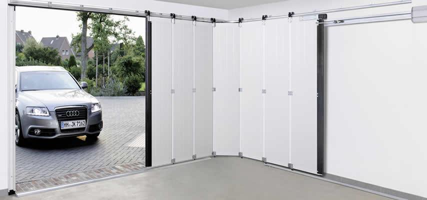 Razones para elegir las puertas seccionales de apertura lateral chipdigitalsl - Como instalar un motor de puerta de garaje ...